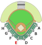 座席図 - E階段
