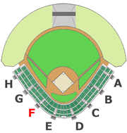座席図 - F階段